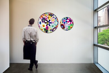 View 5. Thumbnail of Lot 60.  TAKASHI MURAKAMI | FLOWERBALL (3D) FROM THE REALM OF THE DEAD; AND FLOWER DUMPLING.