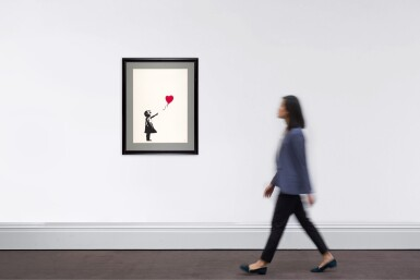 View 4. Thumbnail of Lot 19. Girl with Balloon.