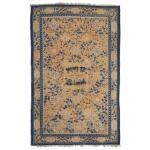 A Ningxia Carpet, Qing dynasty, 18th / early 19th century | 清十八 / 十九世紀初 寧夏雙獅戲球纏枝花卉紋毯