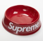 SUPREME DOG BOWL RED