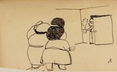 View 2. Thumbnail of Lot 27. JEAN COCTEAU. Le Potomak. 1919. 1/10 exemplaires sur vergé de Hollande (n° 7), contenant trois dessins originaux..