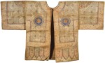 A COTTON TALISMANIC SHIRT (JAMA), INDIA, SULTANATE, 14TH/15TH CENTURY