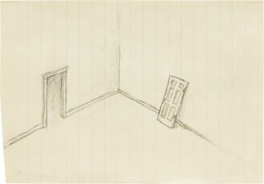 View 1. Thumbnail of Lot 122. Untitled (Door).