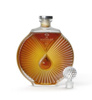 View 1. Thumbnail of Lot 2007. The Macallan In Lalique - Peerless Spirit Decanter, 65 Years Old.