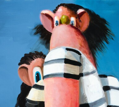 View 4. Thumbnail of Lot 30. GEORGE CONDO |  ANTIPODAL REUNION.