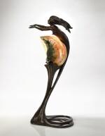 GUSTAV GURSCHNER | FIGURAL TABLE LAMP