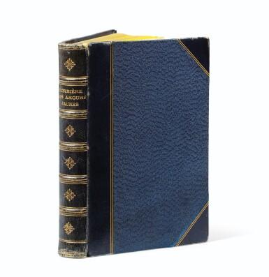 View 3. Thumbnail of Lot 85. Les Amours jaunes. 1873. In-12. Ex. sur papier jonquille en reliure signée de l'époque.
