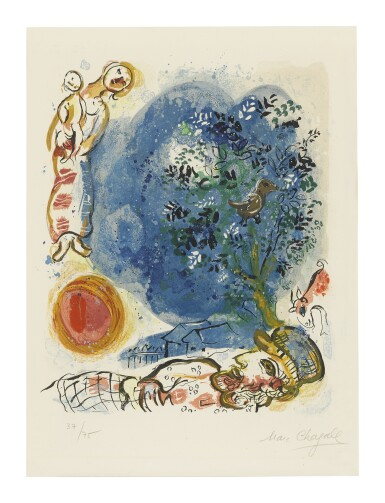 MARC CHAGALL | THE PEASANT (M. 302)