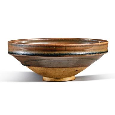 View 3. Thumbnail of Lot 103. A russet-splashed black-glazed bowl, Jin / Yuan dynasty | 金 / 元 黑釉醬斑盌.
