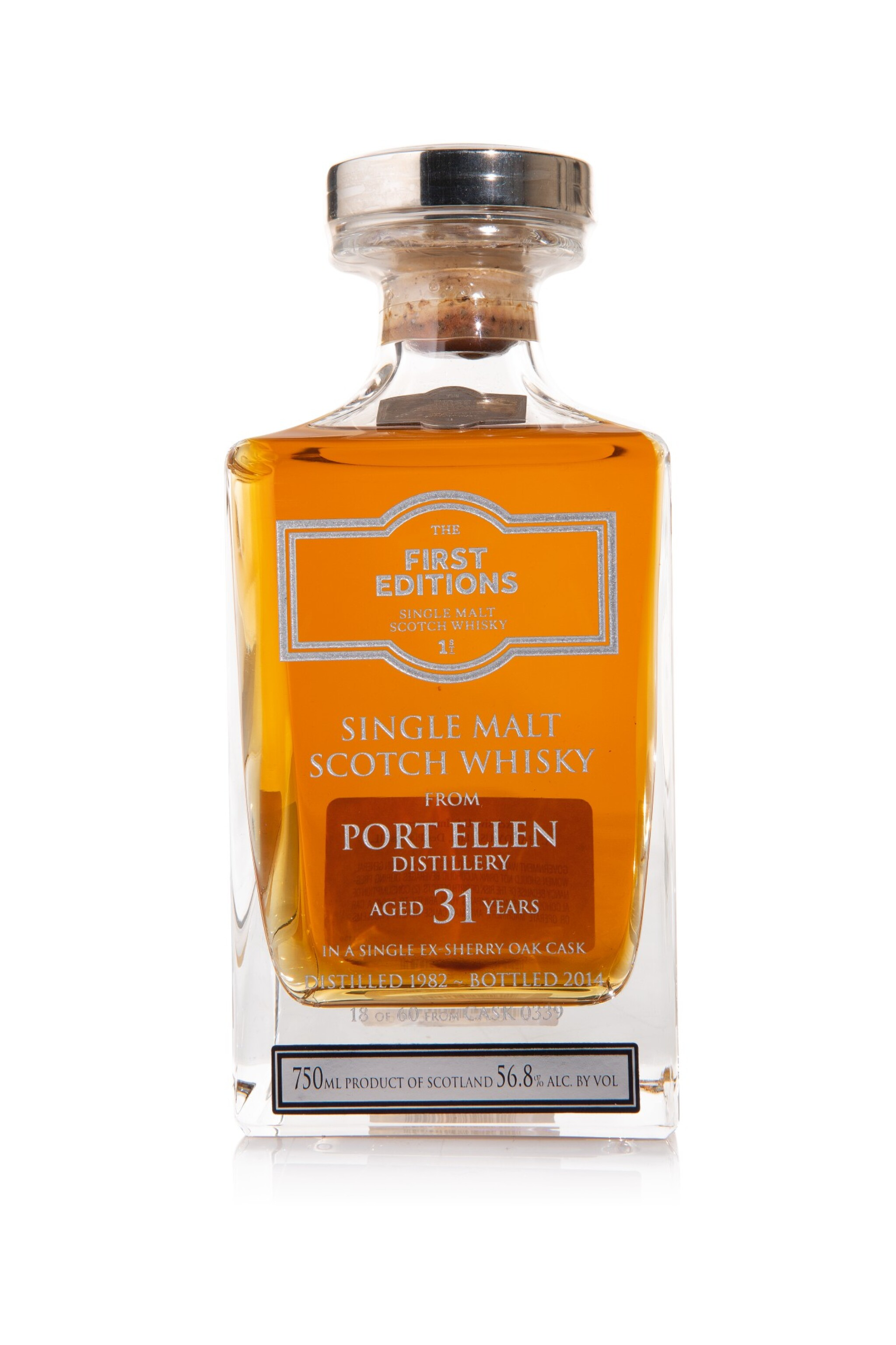 View full screen - View 1 of Lot 36. Port Ellen First Editions 31 Year Old, 56.8 abv 1982 (1 BT75cl).