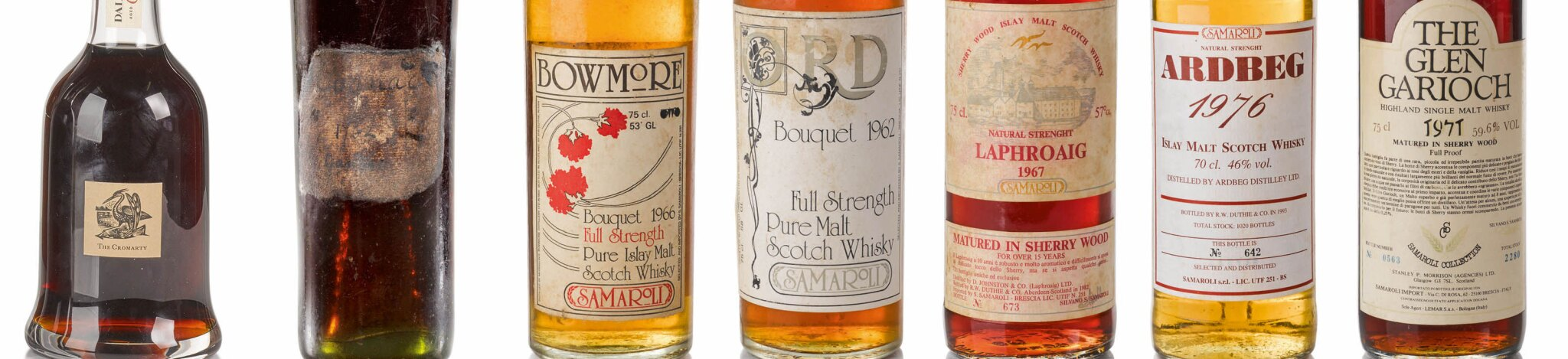 Distilled | Iconic Samaroli, Dalmore 62 and The World's Oldest Cognac