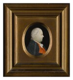 ATTRIBUTED TO MARY B. WAY | PAIR OF MINIATURE PORTRAITS: MAJOR GENERAL JEDEDIAH AND MRS. ANN MOORE HUNTINGTON