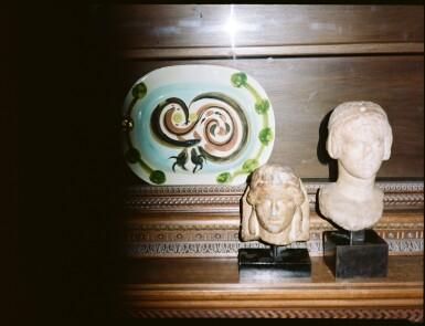 View 3. Thumbnail of Lot 103. A Roman Marble Feline Paw, circa 2nd Century A.D..