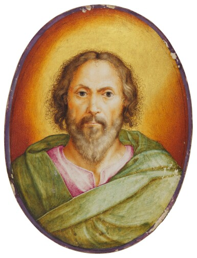 ATTRIBUTED TO GIULIO CLOVIO   A SAINT
