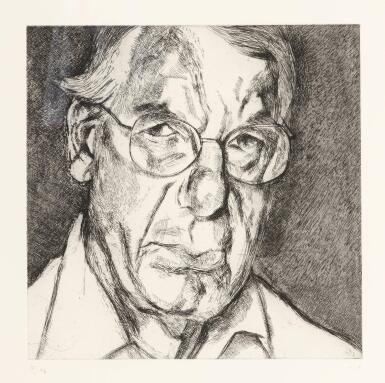 View 1. Thumbnail of Lot 103. LUCIAN FREUD | THE NEW YORKER (F. 84).