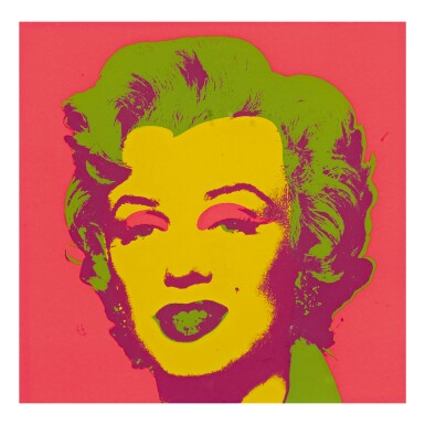 View 1. Thumbnail of Lot 276. ANDY WARHOL | MARILYN MONROE (MARILYN) (F. & S. II.21).