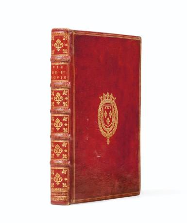 View 5. Thumbnail of Lot 9. La Vie de Saint-Louis. Paris, 1689. Exemplaire de présent aux armes du Régent. Edition originale..