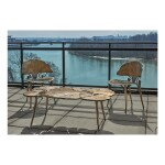 """Pair of """"Ginkgo"""" Side Chairs"""