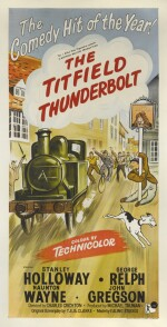 The Titfield Thunderbolt (1953) poster, British