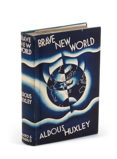 View 1. Thumbnail of Lot 101. Huxley, Brave New World, 1932 .