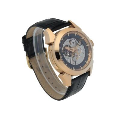 View 3. Thumbnail of Lot 25. Ref. GTM 06 Pink gold minute repeating tourbillon wristwatch Circa 2008 | Grönefeld GTM 06型號粉紅金三問陀飛輪腕錶,年份約2008.