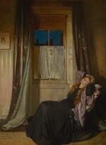 SIR WILLIAM ORPEN, R.W.S., N.E.A.C., R.A., R.H.A. | THE WINDOW: NIGHT