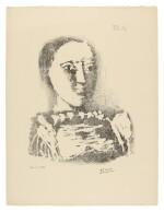 PABLO PICASSO | LE CHANDAIL BRODÉ (B. 729; M. 231)