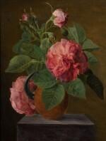 ATTRIBUTED TO JAN FRANS VAN DAEL   Still life of roses