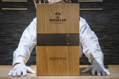 "View 5. Thumbnail of Lot 1. The Macallan 1967 Anecdotes of Ages Collection ""A New Era Of Advertising"", with Sir Peter Blake Print and Exclusive Experience (1 BT75)."