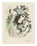 MARC CHAGALL | THE POETESS (M. 643)