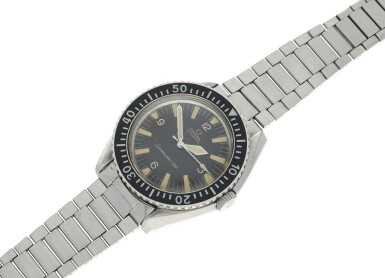 View 6. Thumbnail of Lot 151. OMEGA   REFERENCE 165.024 SEAMASTER 300  A RARE STAINLESS STEEL AUTOMATIC CENTER SECONDS WRISTWATCH, CIRCA 1968.