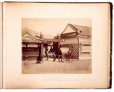 View 3. Thumbnail of Lot 233. Stillfried and Anderson. Album of photographs of Japan. circa 1880.
