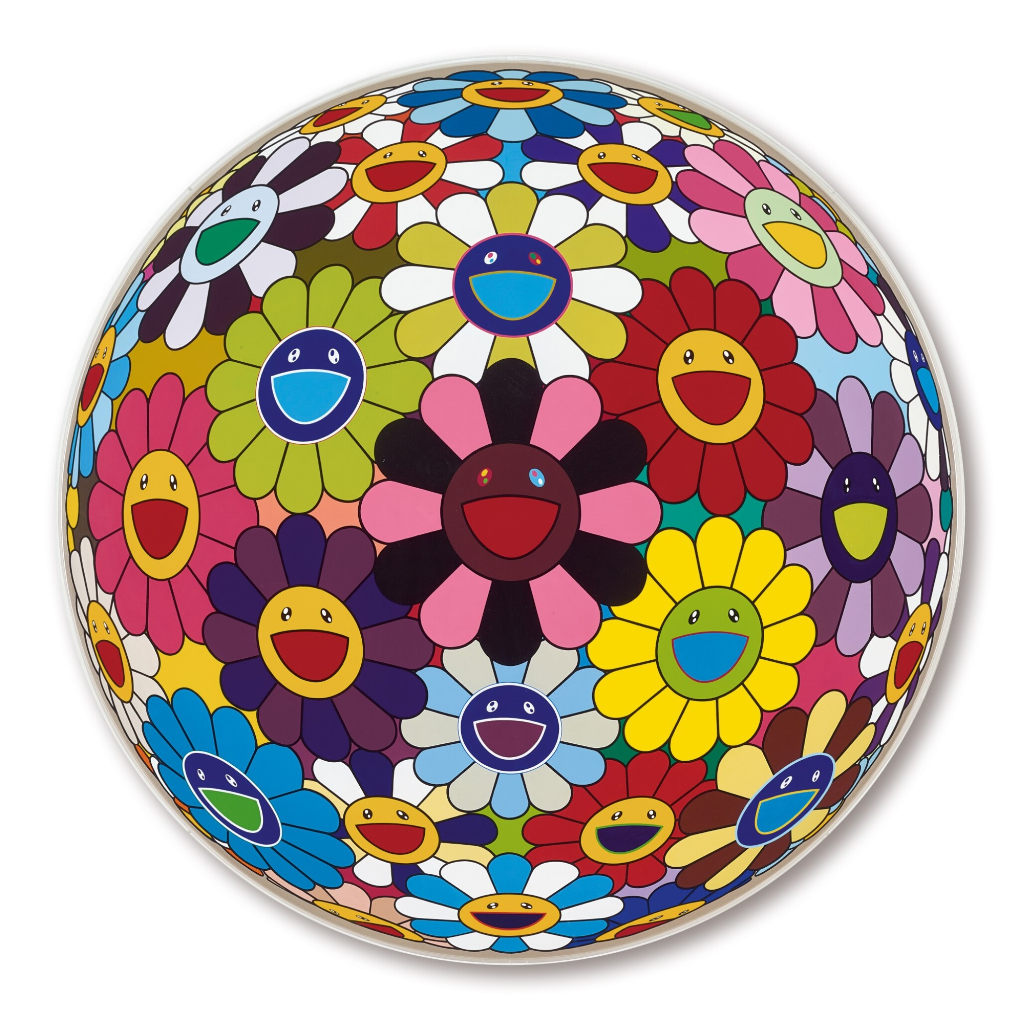 View full screen - View 1 of Lot 27. Takashi Murakami 村上隆 | Flower Ball (Kindergarten Days) 花球(育幼園的日子).