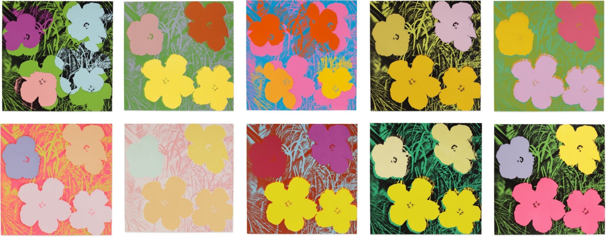 View full screen - View 1 of Lot 63. ANDY WARHOL | FLOWERS (F. & S. II.64-73).