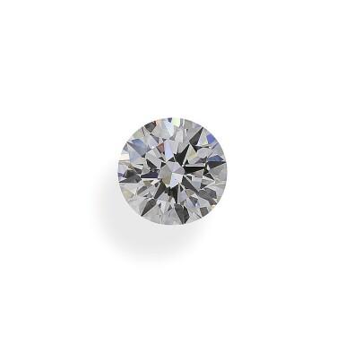 A 2.01 Carat Round Diamond, E Color, VS1 Clarity