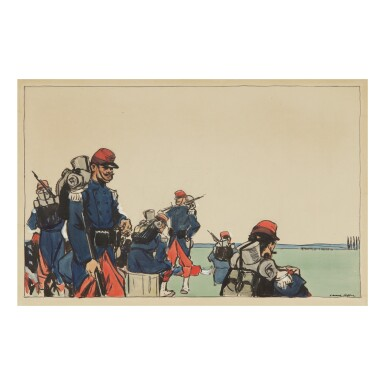 EDWARD HOPPER | FRENCH SOLDIERS
