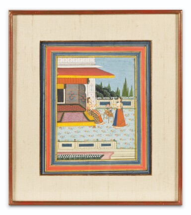View 4. Thumbnail of Lot 65. INDIA, LATE 18TH CENTURY - 19TH CENTURY   THREE MINIATURES.