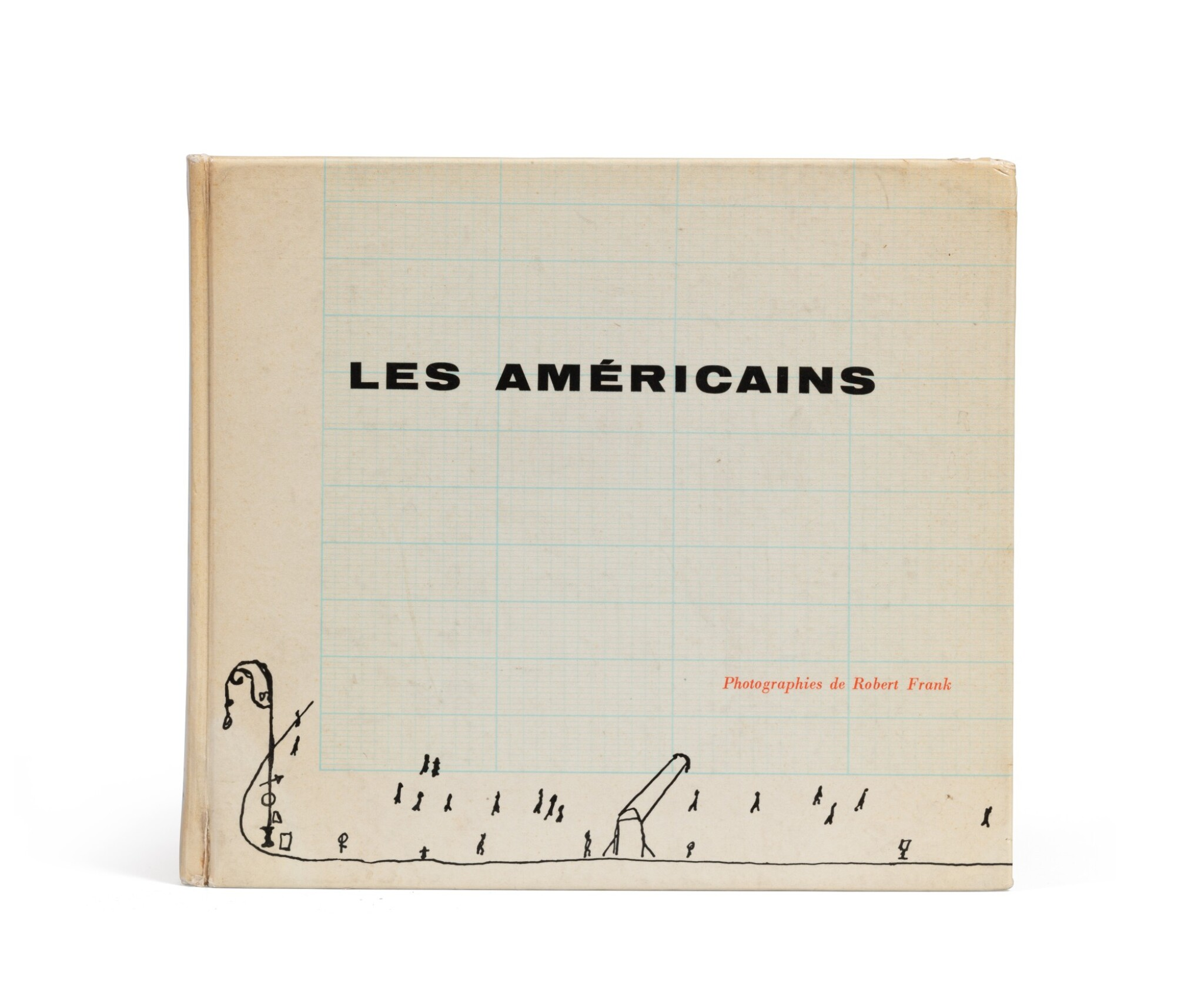 View full screen - View 1 of Lot 39. (book) Les Américains, 1958..