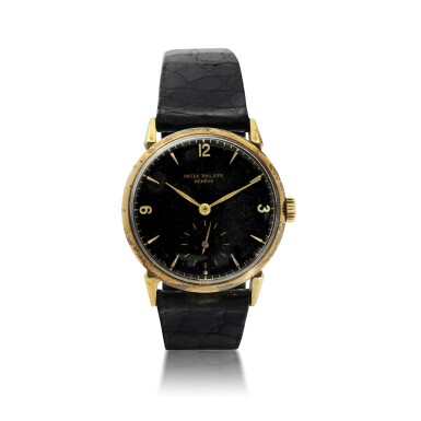 View 1. Thumbnail of Lot 155. PATEK PHILIPPE   REFERENCE 1578 'GM' A YELLOW GOLD WRISTWATCH COMMISSIONED FOR GENERAL MOTORS - GENERAL MOTORS OVERSEAS, MADE IN 1953.