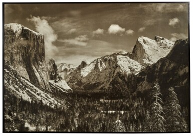View 1. Thumbnail of Lot 48. Yosemite Valley From Inspiration Point, Winter, Yosemite National Park.