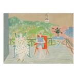 MILTON AVERY | PORCH SITTERS