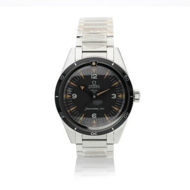 View 8. Thumbnail of Lot 12. OMEGA | THREE 60TH ANNIVERSARY LIMITED EDITION STAINLESS STEEL WRISTWATCHES, CIRCA 2017 |  SPEEDMASTER REF 311.10.39.30.01.002 A LIMITED EDITION STAINLESS STEEL CHRONOGRAPH WRISTWATCH WITH BRACELET, CIRCA 2017 .