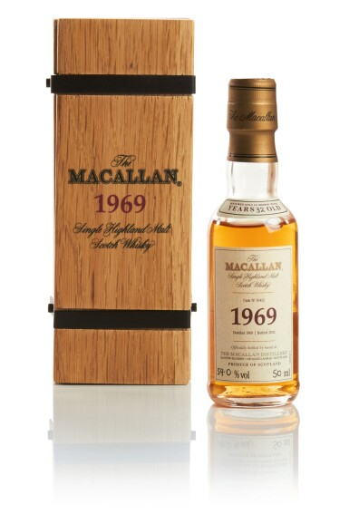 THE MACALLAN FINE & RARE 32 YEAR OLD 59.0 ABV 1969