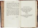 Bolyai   Scientiam spatii absolute veram exhibens, Maros Vásárhelyi, 1832-1833, 2 volumes, half calf