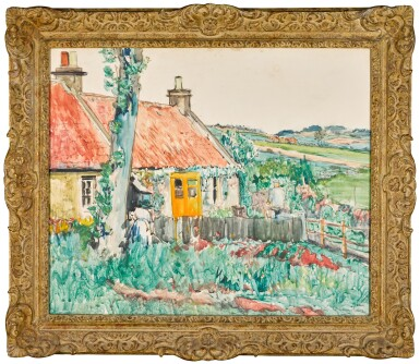 View 2. Thumbnail of Lot 13. A Cottage near Largo, Fife.