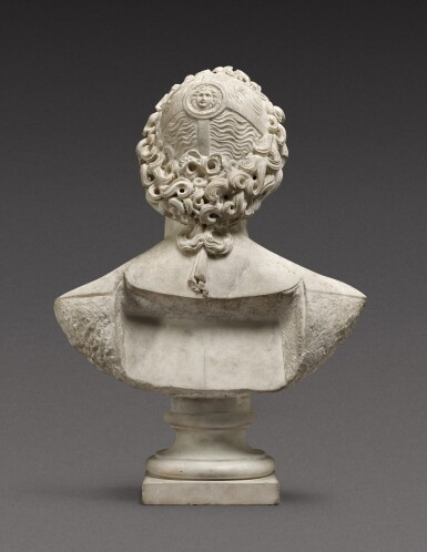 View 4. Thumbnail of Lot 116. Italian, probably 17th century | Bust of Helios Alexander.