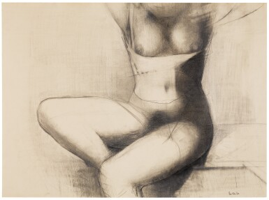 REG BUTLER | UNTITLED (SEATED TORSO)