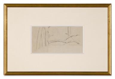 View 3. Thumbnail of Lot 5. PAUL CÉZANNE | ÉTUDE D'ARBRES & ÉTUDE DE PERSONNAGES (A DOUBLE-SIDED WORK).