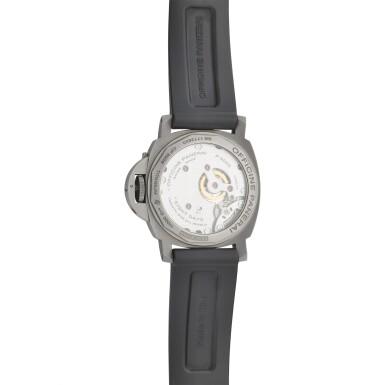 View 3. Thumbnail of Lot 8159. Luminor, Reference PAM562   A titanium wristwatch, Circa 2017   沛納海   Luminor 型號PAM562   鈦金屬腕錶,約2017年製.
