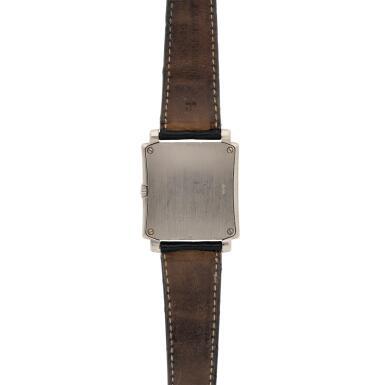 View 5. Thumbnail of Lot 141. Reference 5024 Gondolo  A white gold rectangular wristwatch, Circa 2001 .
